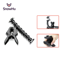 Go Pro Accessories Jaws Flex Clamp Mount And Adjustable Neck For GoPro Hero 4 3 3
