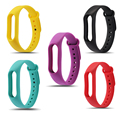 Colorful Silicone Replacement Wrist Strap for Xiaomi Mi band 2 mi band2 Wristband Bracelet Straps Replacement