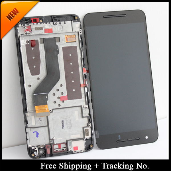 Free Shipping Tracking No 100 tested For Huawei Google Nexus 6P LCD Google 6P Display LCD