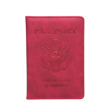 2019  Business  Passport Cover Unisex Russia USA Passports Credit Card Holder Case Driver License Wallet