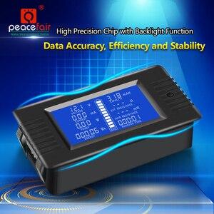 Image 2 - Peacefair Tester baterii rozładowania pojemności, moc amperomierz woltomierz licznik energii impedancja odporność PZEM 015 200v 100A bocznik