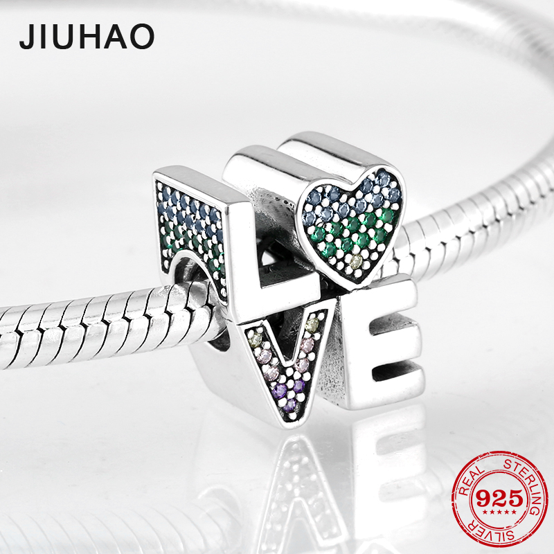CloseoutWarehouse Cubic Zirconia Give Peace Pendant Sterling Silver