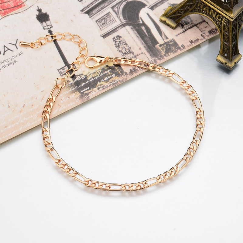 2020 New Arrivals Charm Foot Jewelry Simple Chains Of Gold Metal Leaves Leg Chain & Gold Anklet Designs Fashion Cheap Marketing