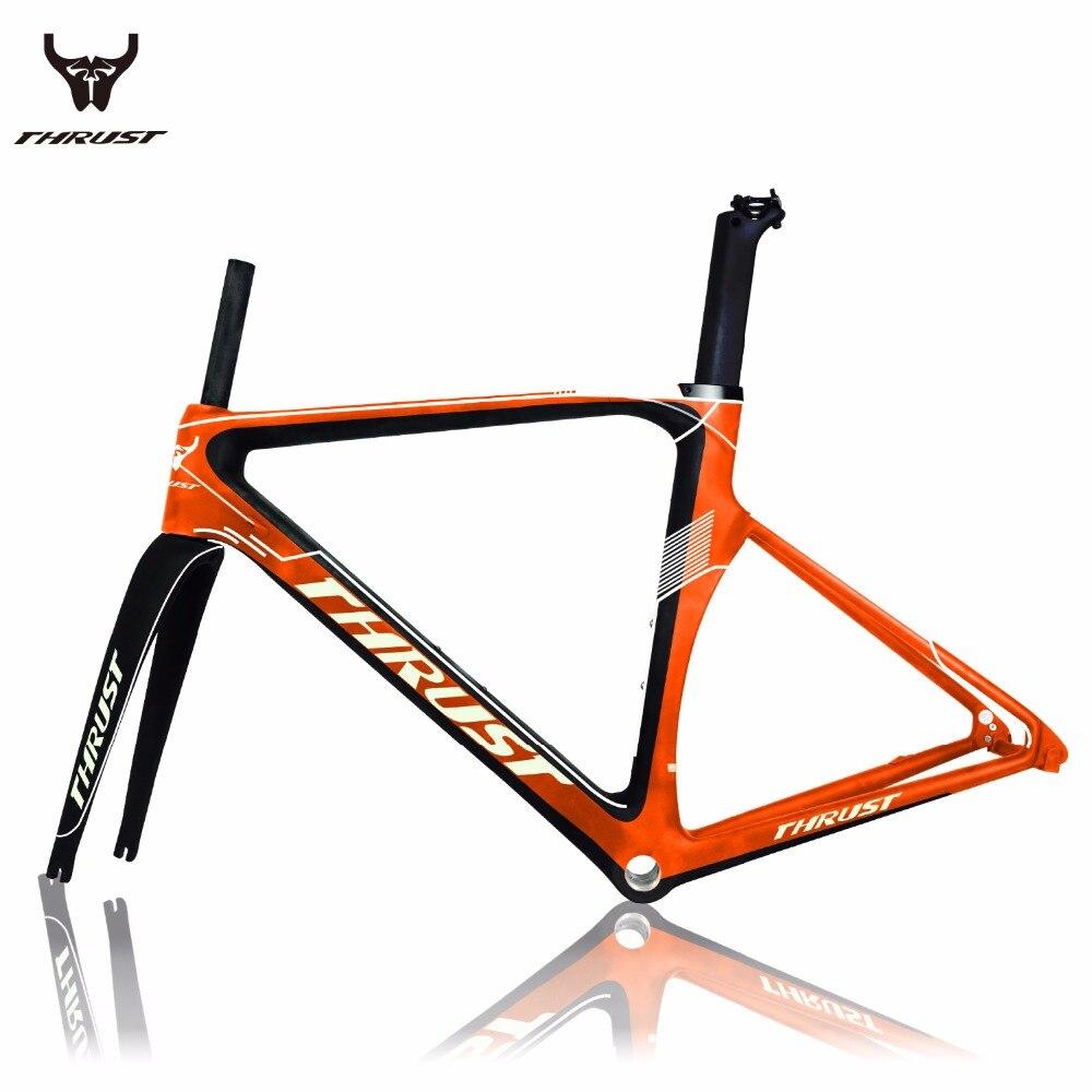 Trident Thrust Full carbon road bike frame road carbon frameset Carbon Frame hot selling with free shipping