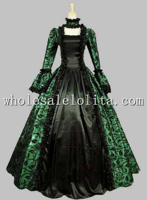 Aliexpress Com Buy Gothic Black And Green Printing