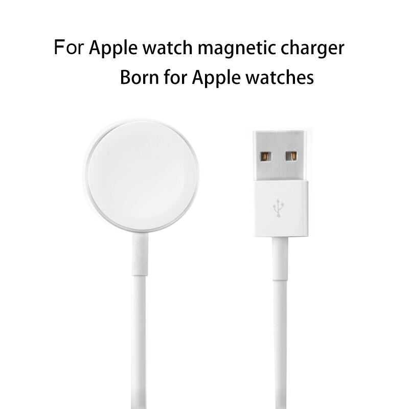 162a906ce3c Reloj elegante para el reloj de Apple magnético Qi cargador inalámbrico para  iWatch serie 1 2
