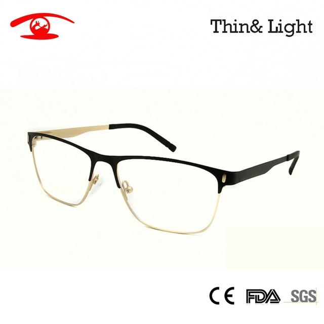 63da05e6699 New 2016 High Quality Men s Eyewear Frames Stainless Steel Optical Frame  Men Glasses Frame Prescription Eyewear