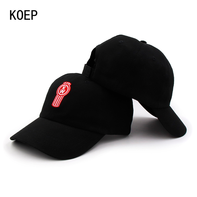 32dc5b5b94da1 KOEP 100% Cotton Thin Breathable Baseball Caps Letters Small Embroidery  High Quality Cap Men Women Hat Black Casquette Dad Hats
