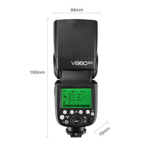 GODOX V860II-O GN60 2.4G TTL HSS 1/8000s Li-on Battery Camera Flash Speedlite for Olympus Panasonic Cameras CD50(China)