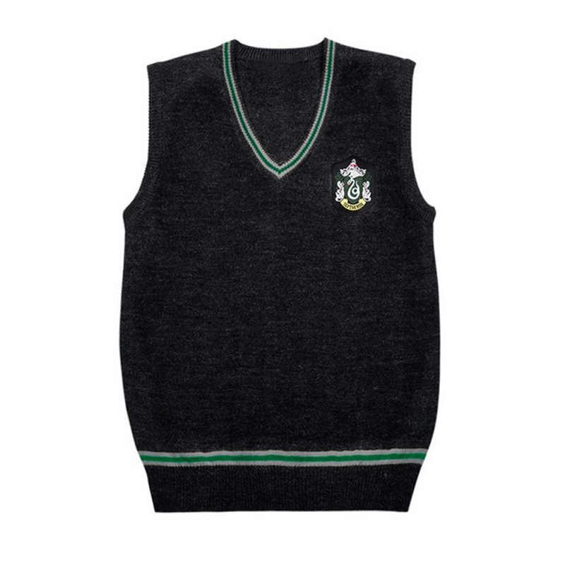 Nhà Gryffindor Slytherin Ravenclaw Hufflepuff Áo Vest Trang Phục Hóa Trang Disfrace Huy Hiệu Anime Đồng Phục Nữ Áo Bé Gái Bé Trai