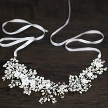 Wedding Dress Accessories Crystal Pearl Hair Accessories