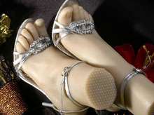 newly sex toy fetish/silicone feet/sex silicone/real full silicone sex dolls/model toy/foot fetish/feminino free shipping