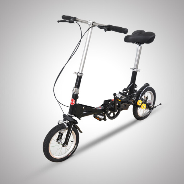 12'' inch Multi Shape Mini Folding Bike 3