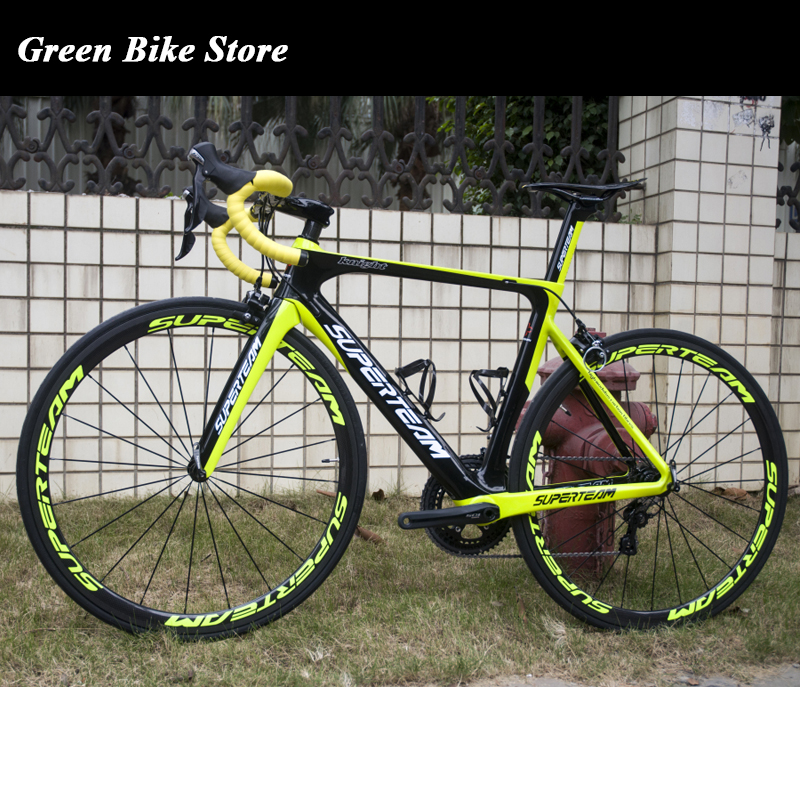 Superteam  Carbon Complete Road Bike Bicycle AERO007 AERO Design Carbon Bike With Shiman UItegra 6800 22 Speed|road bike bicycle|road bike|road bike design - title=