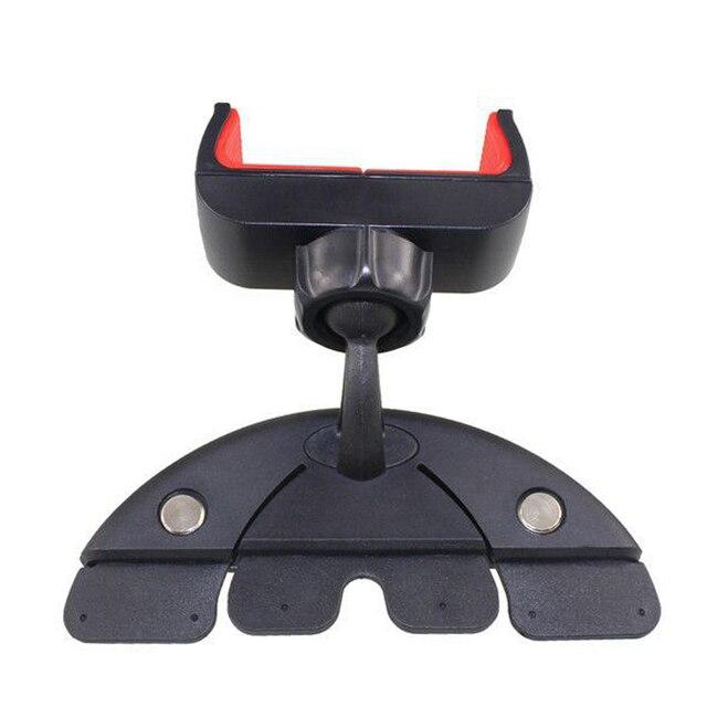 Soporte Universal para teléfono móvil PDA GPS soporte Mini plástico para reproductor de CD soporte para teléfono móvil