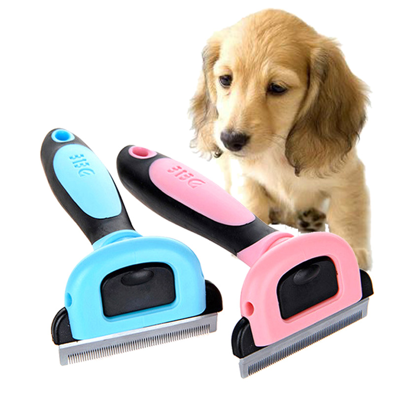 Pet Supply Grooming Tools Combs Dog Hair Remover Cat Brush Furmins Detachable Clipper Attachment Pet Trimmer Combs for Cat Dog