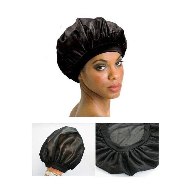 Female Long Hair Care Cap Coconut Oil Treated Satin Sleep For Women