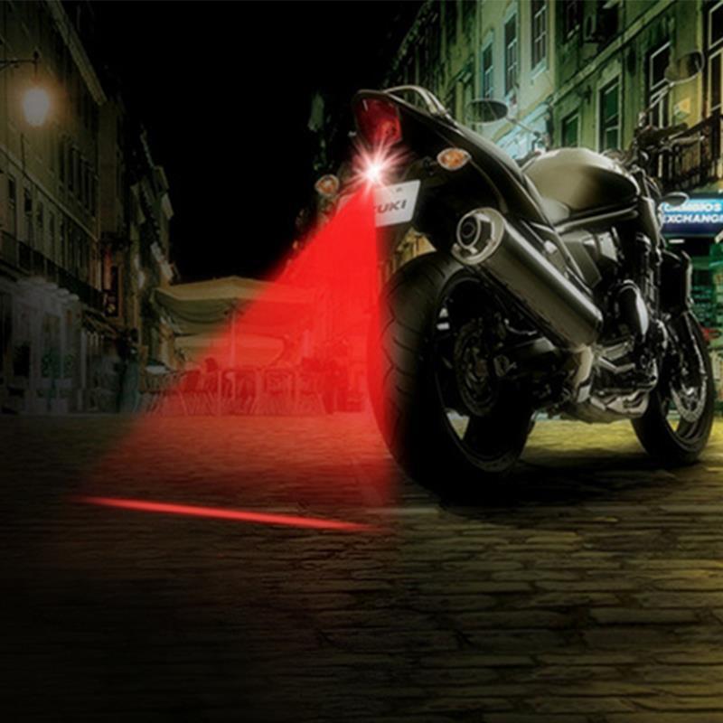 LEEPEE Motorcycle Waterproof Fog Lights Cool Motorbike Tail Light Motorcycle Rear Car Laser Brake Turn  Bulb Accessories H10029