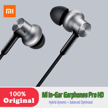 Newest Xiaomi Original In-Ear Earphones Pro HD Hybrid dynamic + balanced Optimized sound quality Circle Iron Dual Drivers