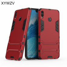 Huawei Honor 8X Max Case Armor Rubber Hard Back Phone Case For Huawei Honor 8X Max Cover Huawei Honor 8X Max Kickstand Fundas huawei honor 8x max case dual layer armor tpu pc shell shockproof back cover for huawei honor 8x max case honor 8x max funda 7 2