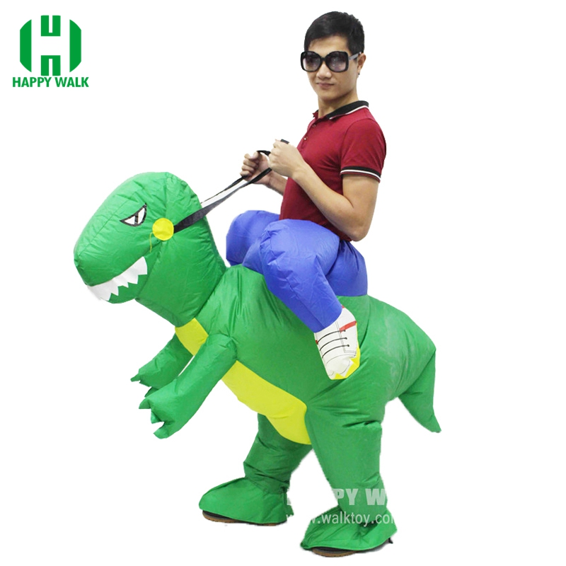 Adult Inflatable Dinosaur Costume Dress Suit Party Kid Halloween Christmas Xmas Gift One Size Fit All inflatable Costume Style