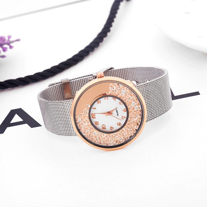 Ζεστό Μόδα από ανοξείδωτο χάλυβα - Γυναικεία ρολόγια - Φωτογραφία 6
