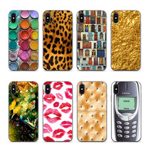 For iphone cases 7plus Tiger Leopard Print Panther Photo Covers Case X XS XR XSMAX 6 6S 8 8PLUS 7 Transparent Egde