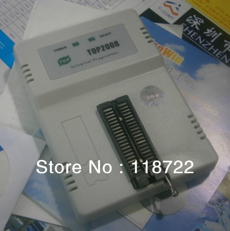 все цены на  TOP2008 USB universal programmer EPROM MCU PIC ,Writer Duplicator Burner  онлайн