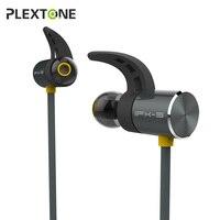 Plextone BX343 Magnetic Bluetooth Earphone In Ear Headset IPX5 Waterproof Sport Wireless Earbuds Handsfree With Mic