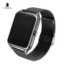 ZoneQuality z60 Homens Relógio Inteligente com Bluetooth Phone Call 2g GSM SIM Câmera Cartão TF Android Smartwatch Inteligente PK DZ09 Q18 U8