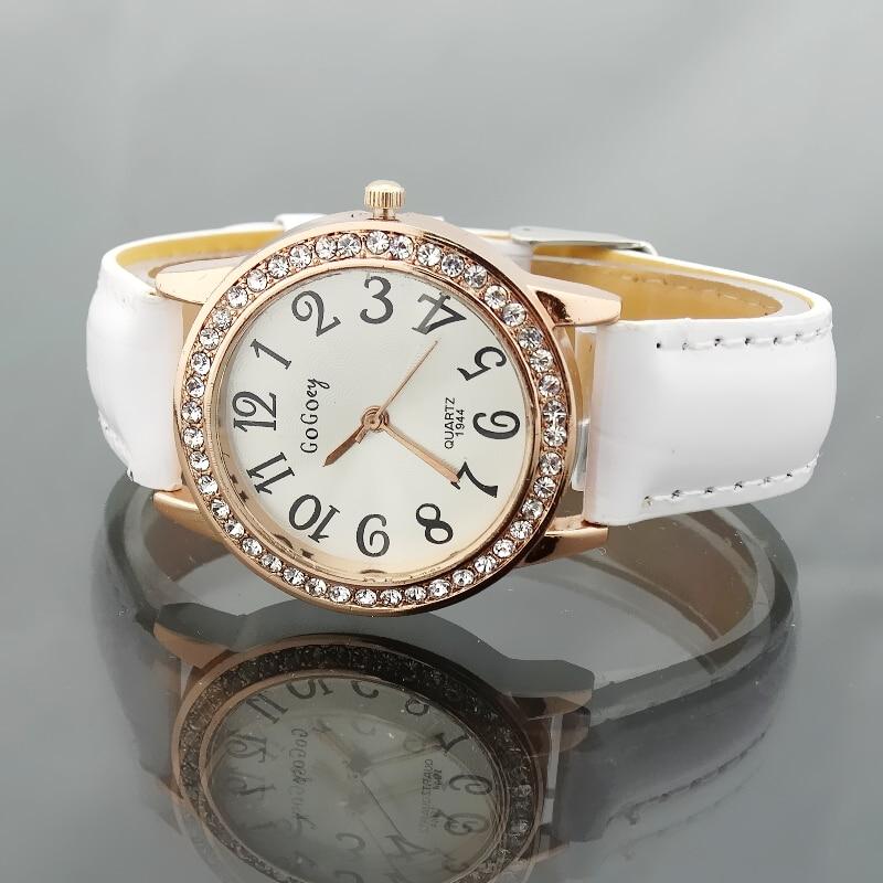 Marca Gogoey relojes mujeres rhinestone reloj de cuarzo reloj mujer 2017 reloj  cristalino de lujo relojes vestido de las mujeres de moda en Relojes de  mujer ... e5cdbd97eadb