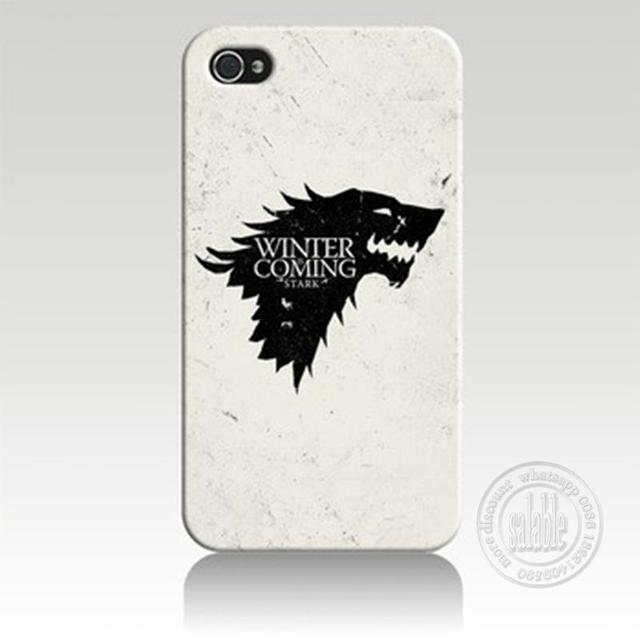 Games of Thrones House Stark Phone Case for iPhone 7 6 6S Plus 4 4S 5C 5 SE 5S Cover
