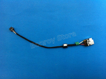 (5 sztuk partia) dla HP ENVY 6-1000 ENVY6-1000 złącze zasilania DC kabel typu jack nowy P n 698659-SD1 tanie i dobre opinie Adapter kabla Dostępny w magazynie ZUOSHIHUI
