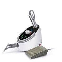 65 Вт 35000 об./мин Электрическая дрель для ногтей набор пилок наборы для маникюра и педикюра сверла для ногтей полировальная машина с ЖК диспле