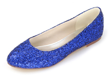 fe512243a718 Creativesugar Sparkling 3D glitter bling green blue red purple woman flats  beach wedding party night club