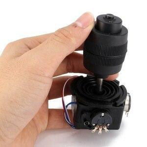 Image 5 - 1PC New Arrival 4 osi z tworzywa sztucznego dla potencjometr joysticka dla JH D400X R4 10K 4D z przycisk drutu