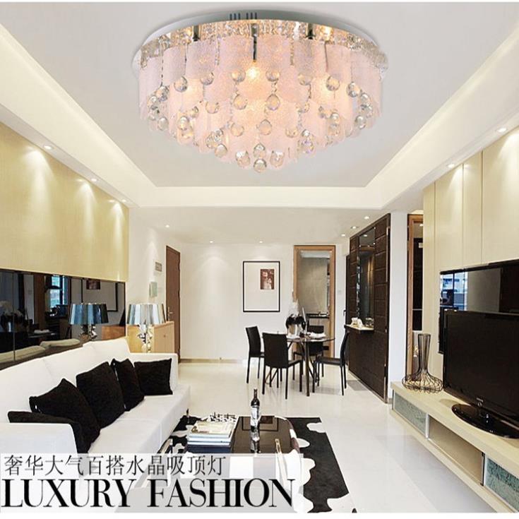 moderne kristallen kroonluchter plafond opbouw geleid, Deco ideeën