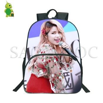 Mamamoo Kpop Solar Backpack School Bags for Teenage Girls Boys Laptop Rusksack Large Capacity Bags Women Men Daily Backpack 2