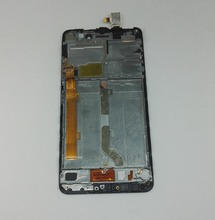 Lcd Display screen+touch glass digitizer Frame assembly for Lenovo s60 S60W S60T S60A S60-a free shipping