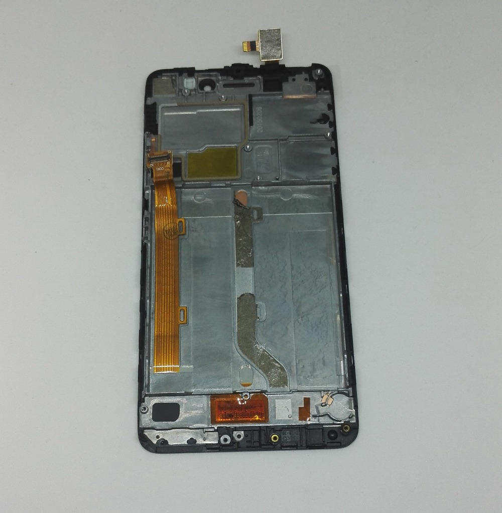 Lcd display + touch glas digitizer frame assembly für lenovo s60 s60w s60t s60a s60-a kostenloser versand