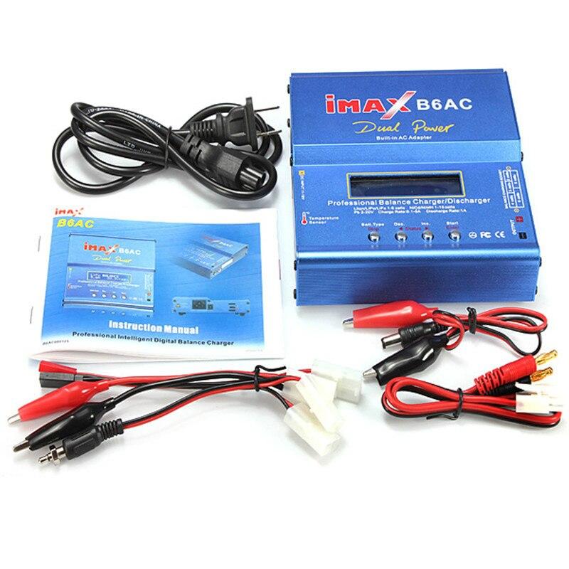 Double Puissance IMAX B6AC Lipo Batterie Adaptateur Professionnel Équilibre Chargeur déchargeur + Alimentation + Ensemble Tamiya Ligne pour RC modèles