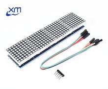 MAX7219 dot matrix module microcontroller module 4 in 1 display C14 Red/ Green