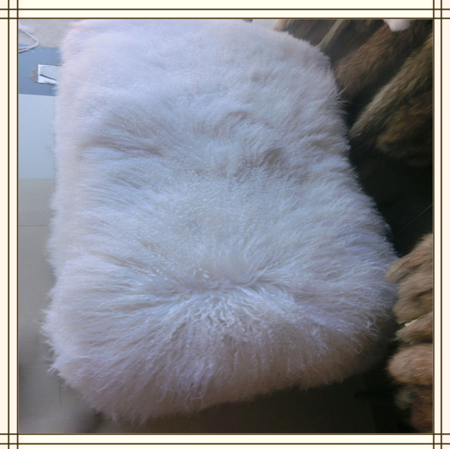 High Quality Natural Hot selling mongolian sheep fur Plate