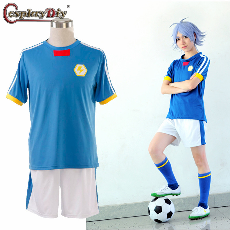 Inazuma Eleven Gouenji Shuuya Halloween japanese Cosplay Costumes men adult