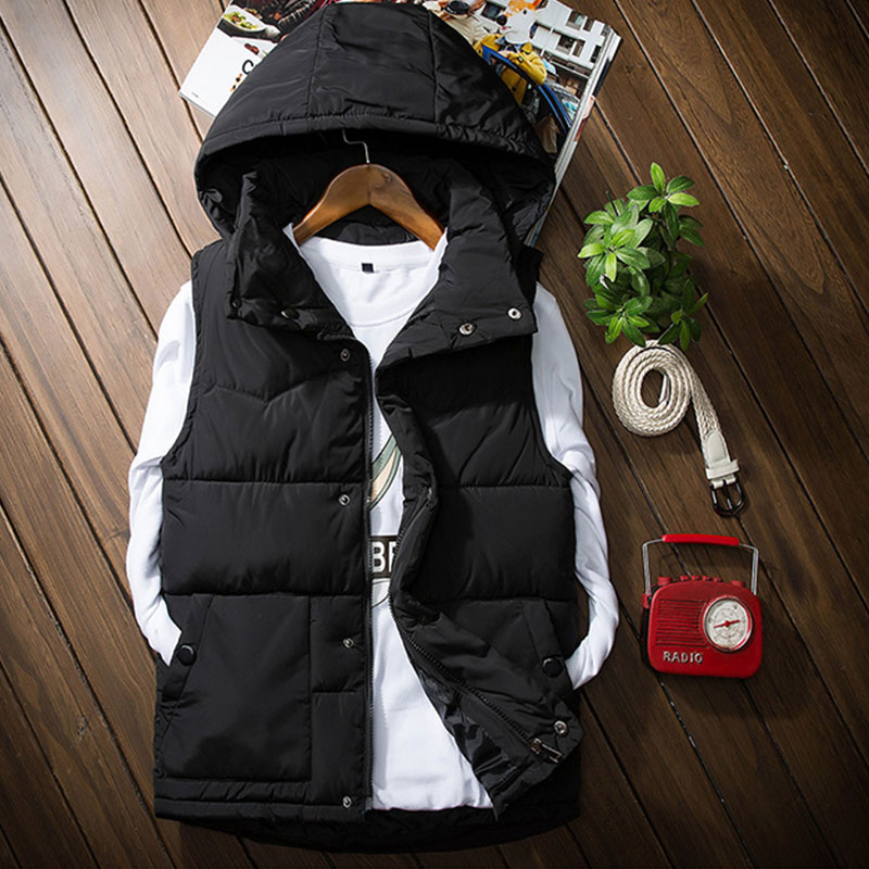 2018 New Fashion Mens Casual Vest Cotton Contrast Color Wide-Waisted Mens Waistcoat Gilet Vest Drop Shipping