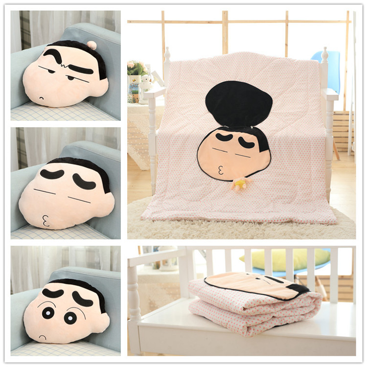 Candice guo! cute plush toy cartoon expressions big head Crayon Shin chan stuffed doll cushion quilt birthday Christmas gift 1pc candice guo super q cartoon chubby hamster squirrel plush toy doll backpack shoulder bag birthday gift 1pc