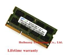 Тетрадь памяти samsung DDR3 2 GB 1066 MHz PC3-8500S DDR 3 2G ноутбук Оперативная память оригинальный 204PIN SODIMM
