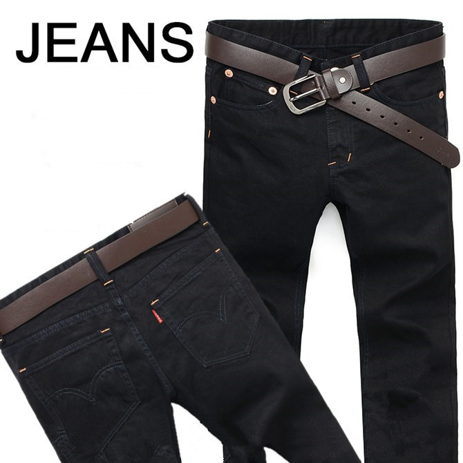 High quality men's denim Full Length jeans new arrival men jeans fashion straight casual slim long pants Men Trousers Size 28-36 wwoor relogio masculino top brand luxury men waterproof stainless steel casual gold watch men s quartz clock male sports watches