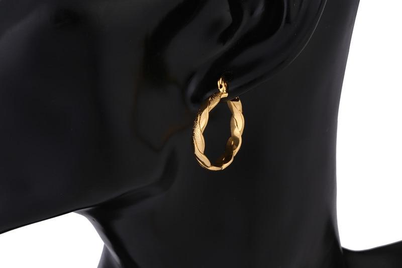 Bangrui Νυφικά Ανδρικά Κοσμήματα Κίτρινο - Κοσμήματα μόδας - Φωτογραφία 5