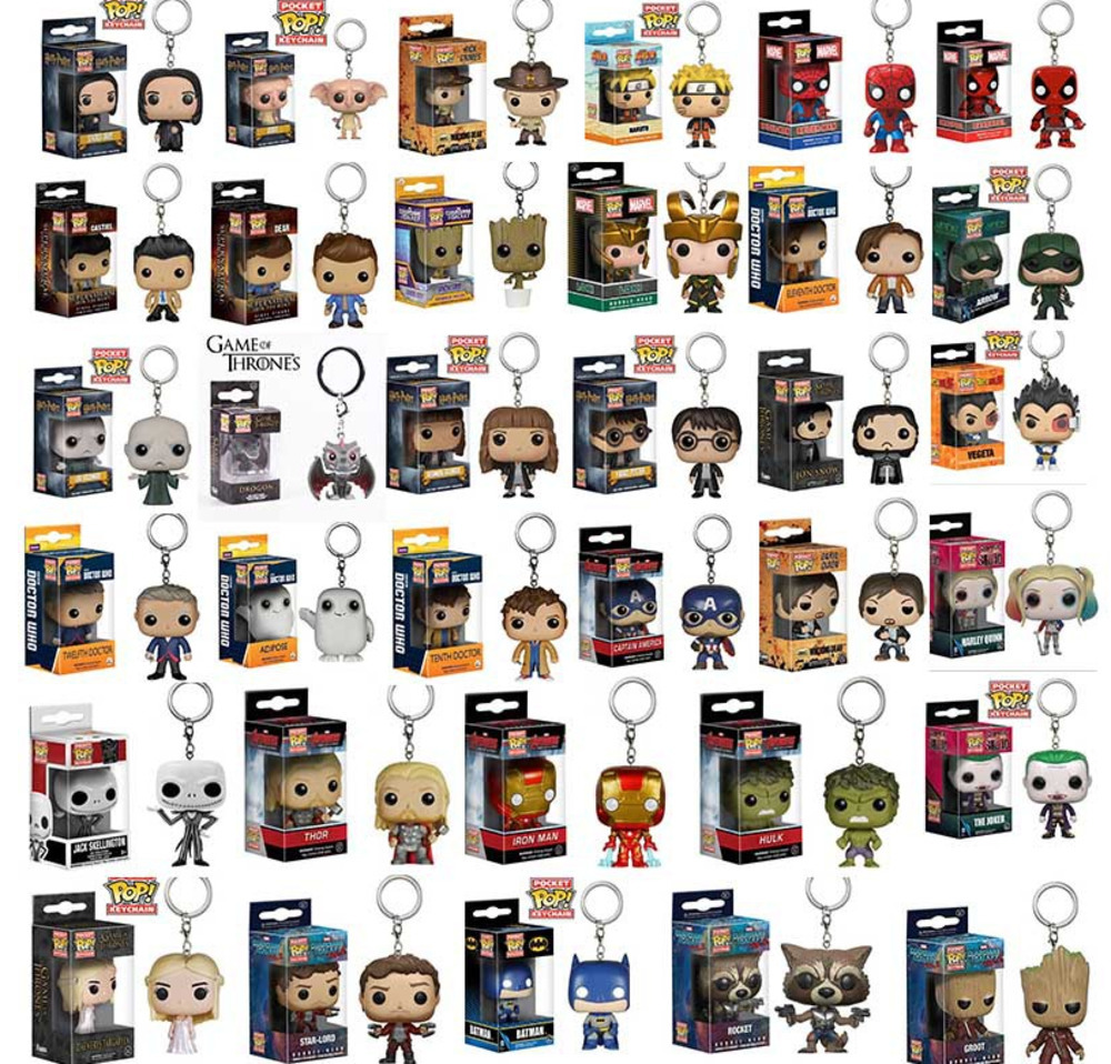funko-pop-font-b-marvel-b-font-keychain-spider-chivalrous-usa-captain-the-galaxy-guard-treant-avenger-alliance-key-chain-buckle-boxed